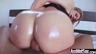 (Dahlia Sky) Horny Girl With Big Ass Get Oiled And Anal Nailed clip-11