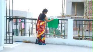 Hindu couple having hot romance in delhi
