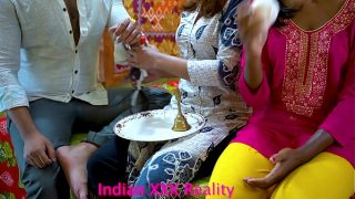 Indian horny 2 Sisters and step Brother fuck